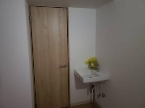 トイレ付近の様子